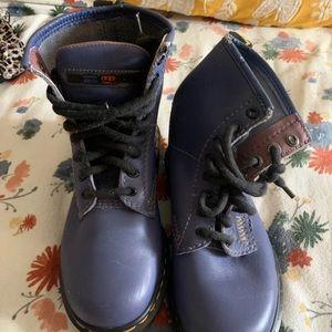 Dr. Martens Blue boots Size 4